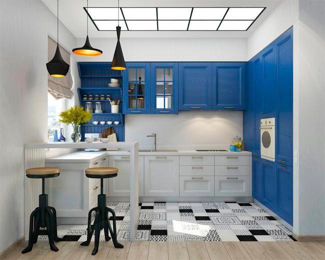 L mparas para la cocina te iluminamos lamparas sevilla for Cocina pintura pato azul