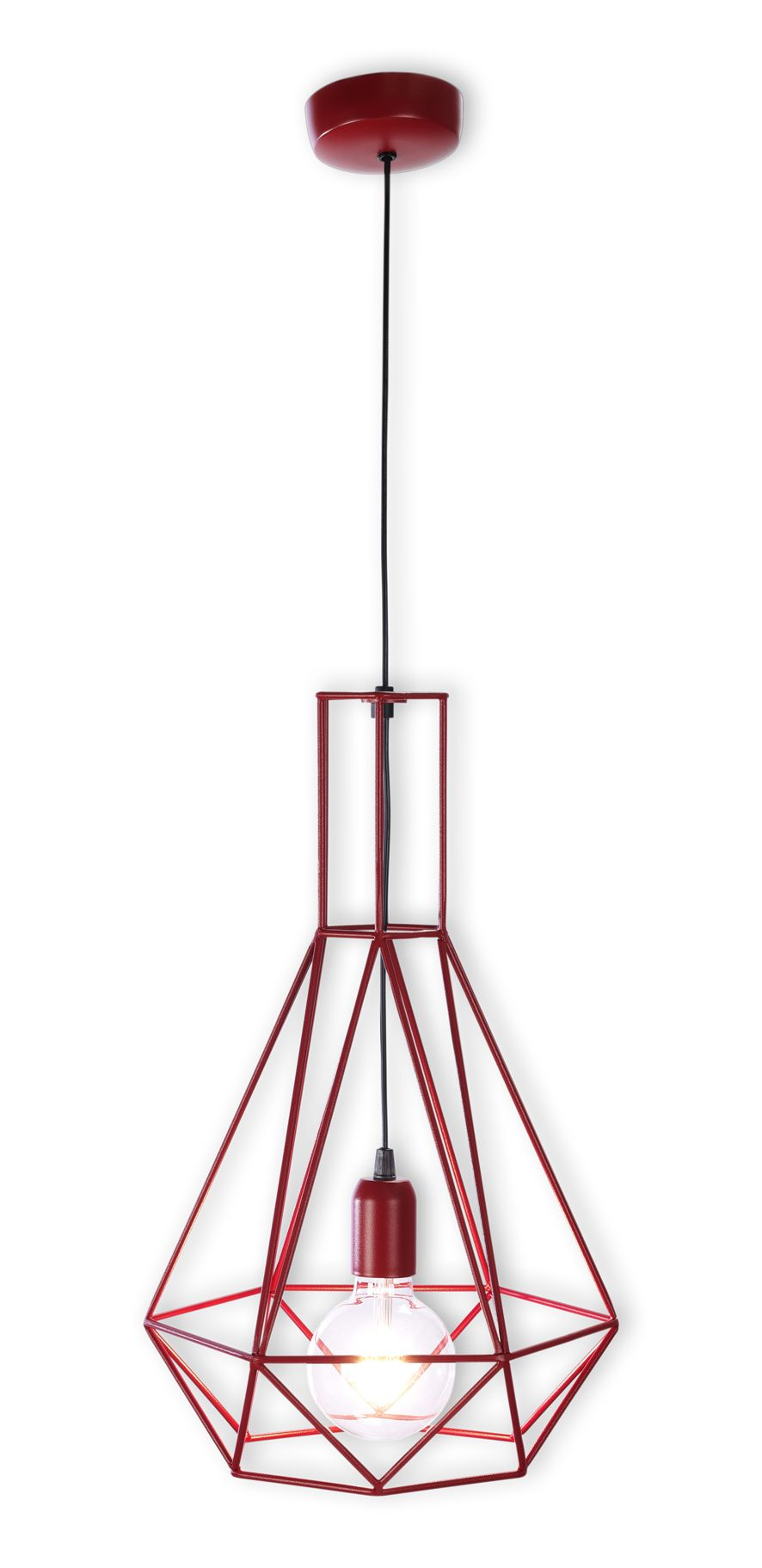 lamparas de alambre