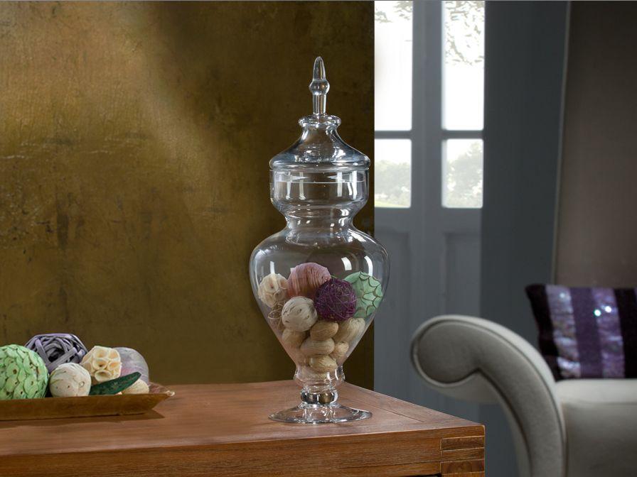 Decora con jarrones de cristal lamparas sevilla - Como decorar tulipas de lamparas ...