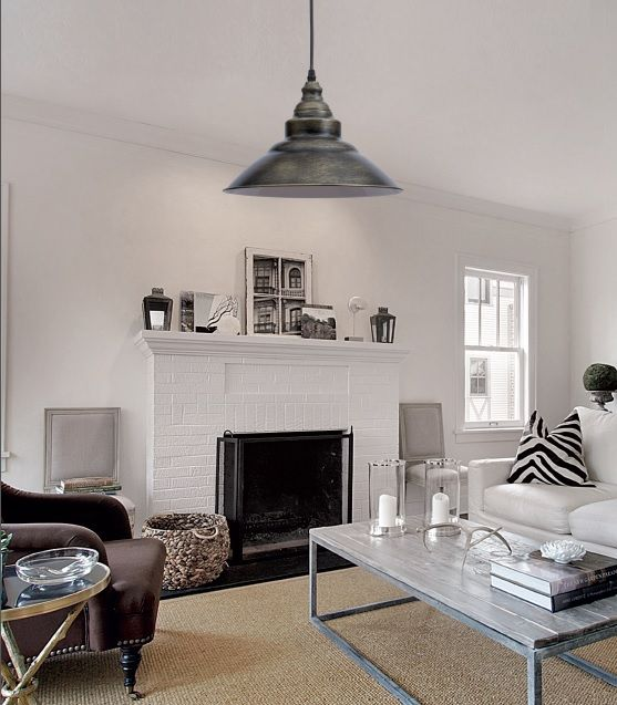 Iluminaci n estilo industrial va de retro lamparas sevilla - Iluminacion estilo industrial ...