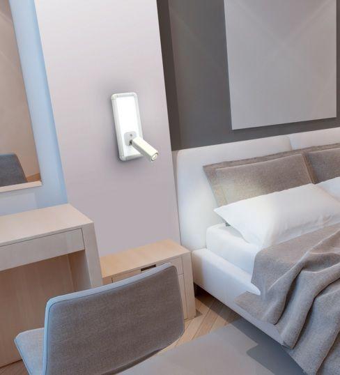 Apliques de pared led de mantra iluminaci n lamparas sevilla - Iluminacion apliques de pared ...