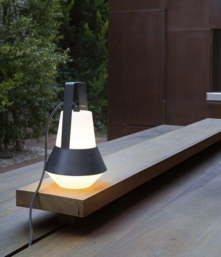 lampara portatil de exterior