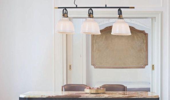 lámpara estilo rústico actual