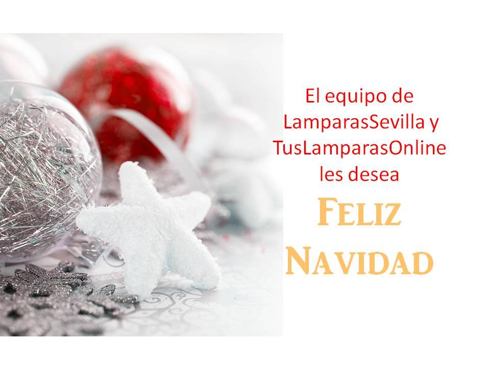 Feliz Navidad Lamparas Sevilla