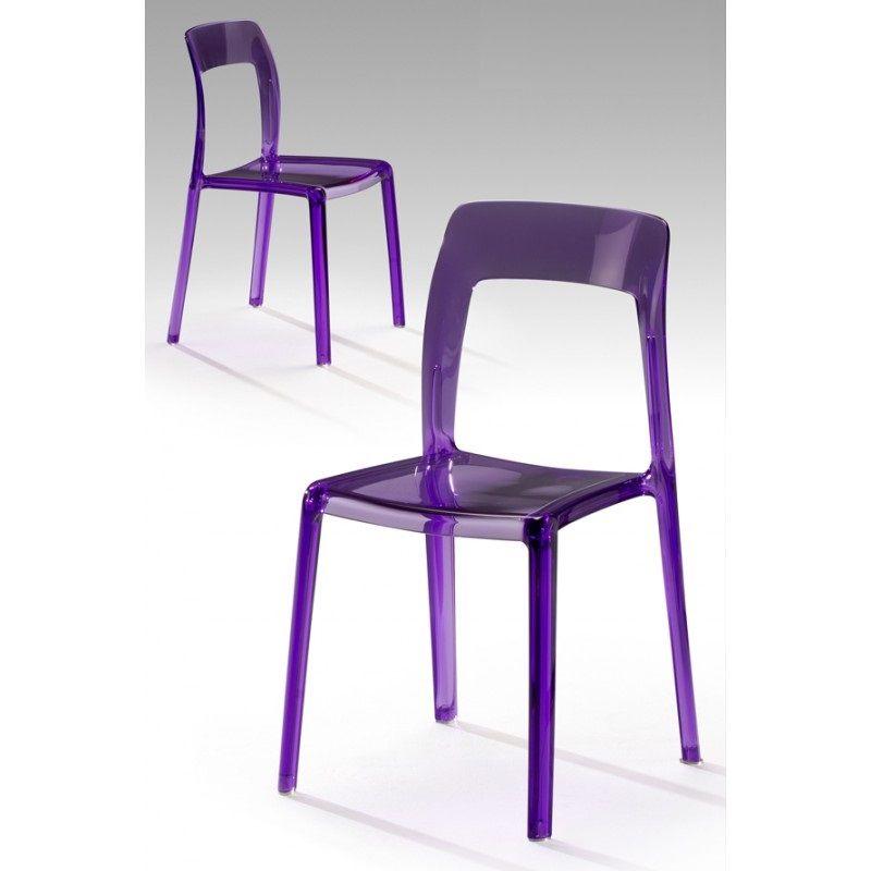 silla de policarbonato de schuller