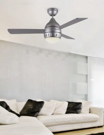 ventiladores led modernos