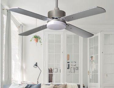 Novedades en Ventiladores de Techo con Luz de Fabrilamp Iluminación 2021