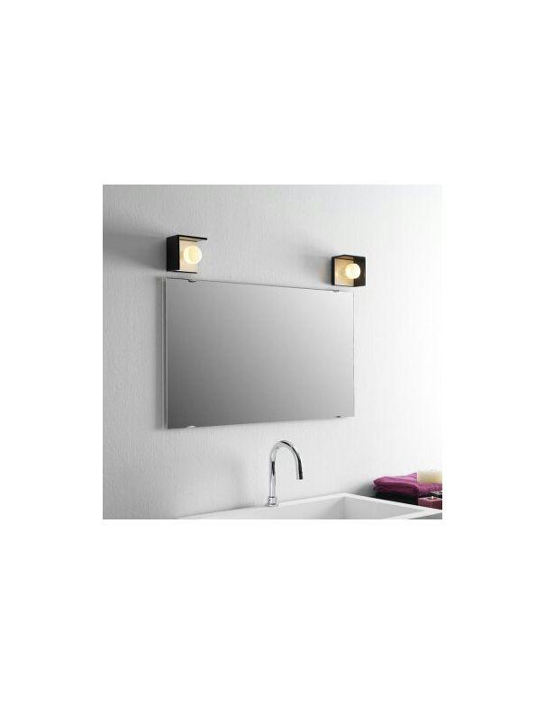 Aplique bis negro for Apliques espejo bano baratos
