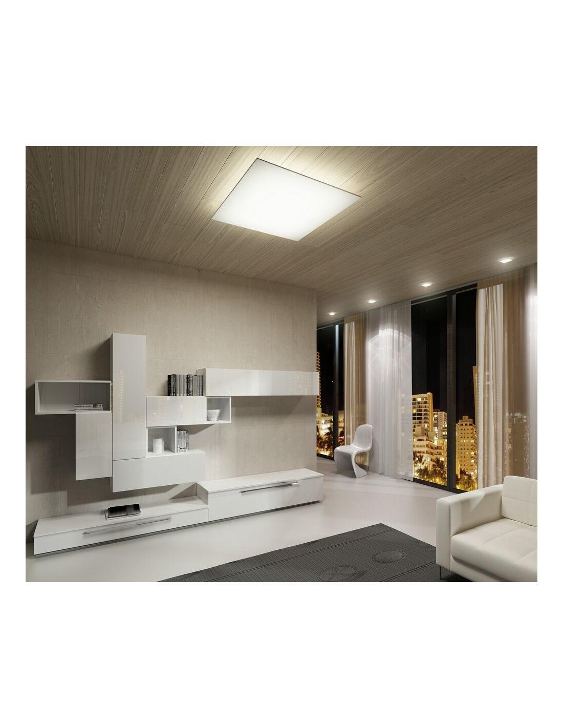 Plafones de tela lavables de fm iluminaci n for Plafones luz pared