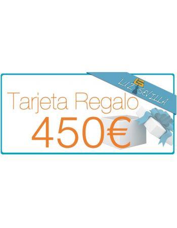Tarjeta Regalo 450€
