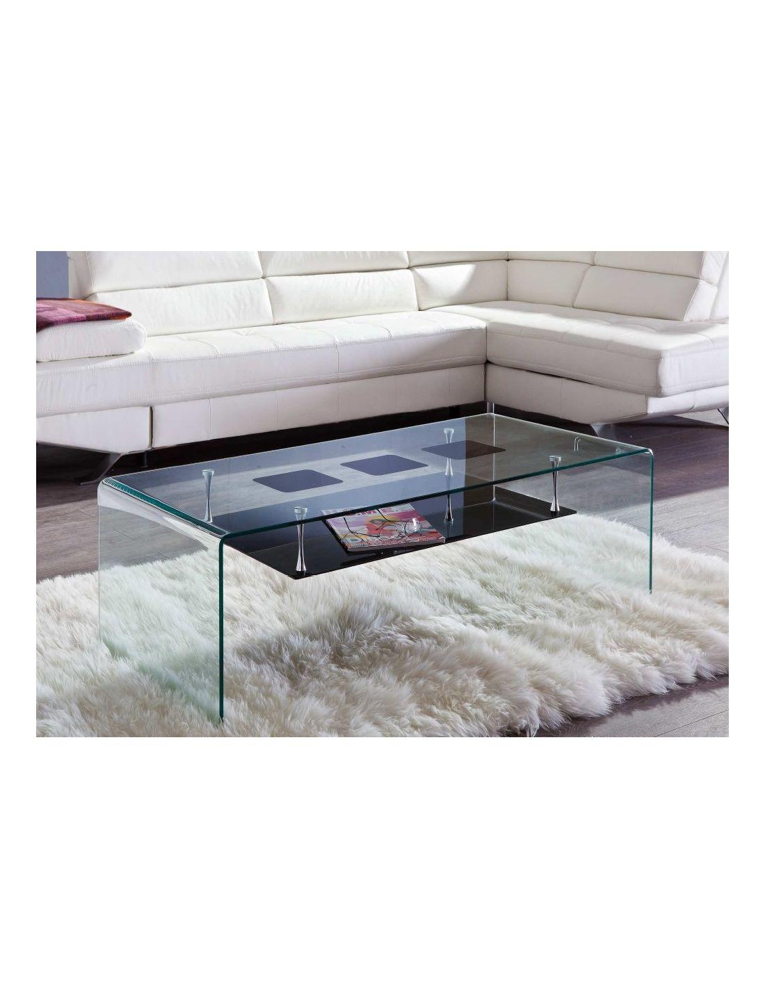 Tienda de muebles auxiliares en sevilla mesas de cristal - Mesa auxiliar cristal curvado ...
