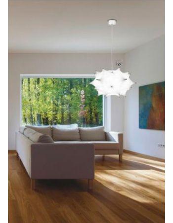 Lámpara de Techo Flexible y Lavable