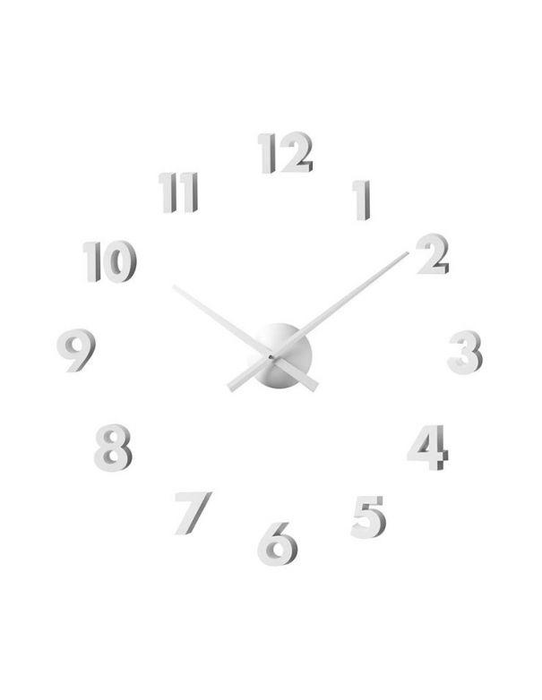 Reloj de pared adhesivo blanco compra online precios - Reloj de pared adhesivo ikea ...