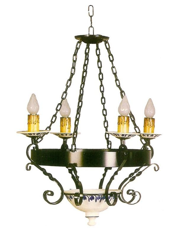 Lámpara 4 luces