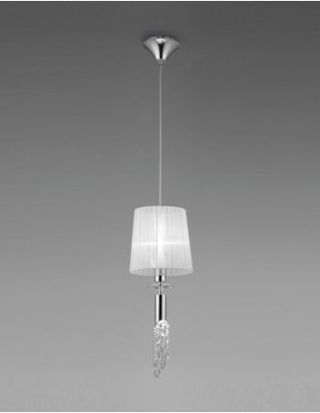 Lámparas con Pedrería de Cristal