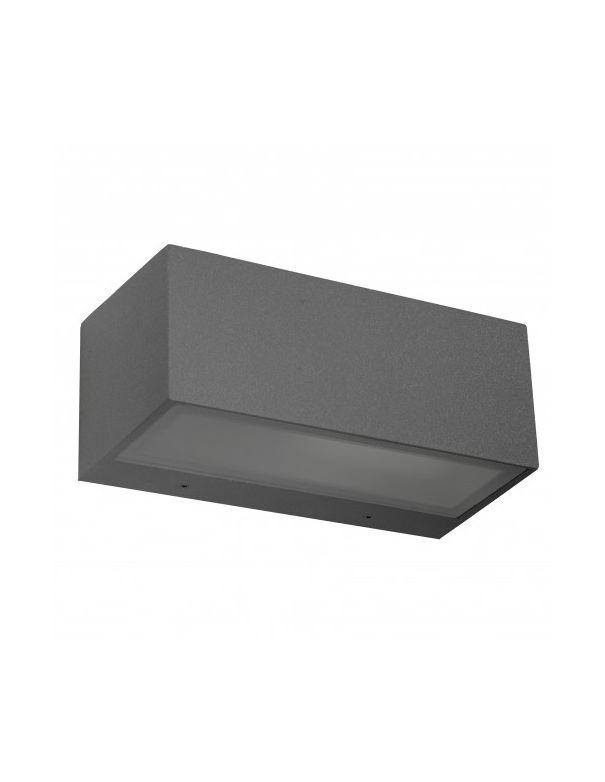 Aplique exterior n mesis gris oscuro env o r pido y seguro - Apliques de exterior ...