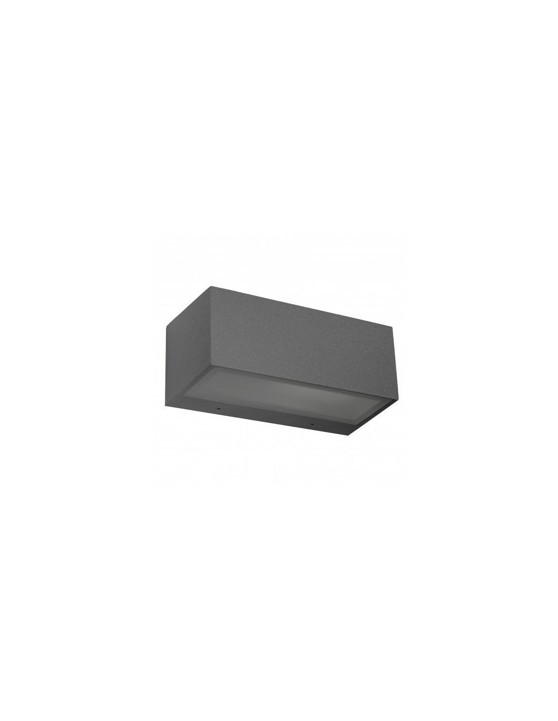 Aplique exterior n mesis gris oscuro env o r pido y seguro for Exterior gris oscuro