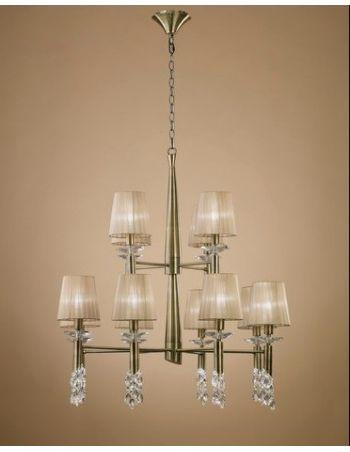 Lámpara Tiffany Cuero