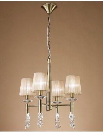 Luminaria Colección Tiffany