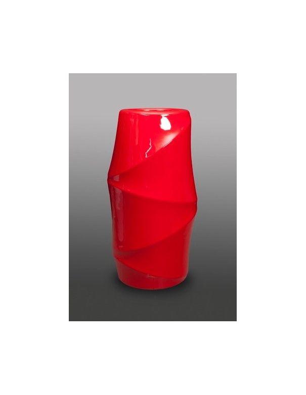 Macetero Bambú Rojo