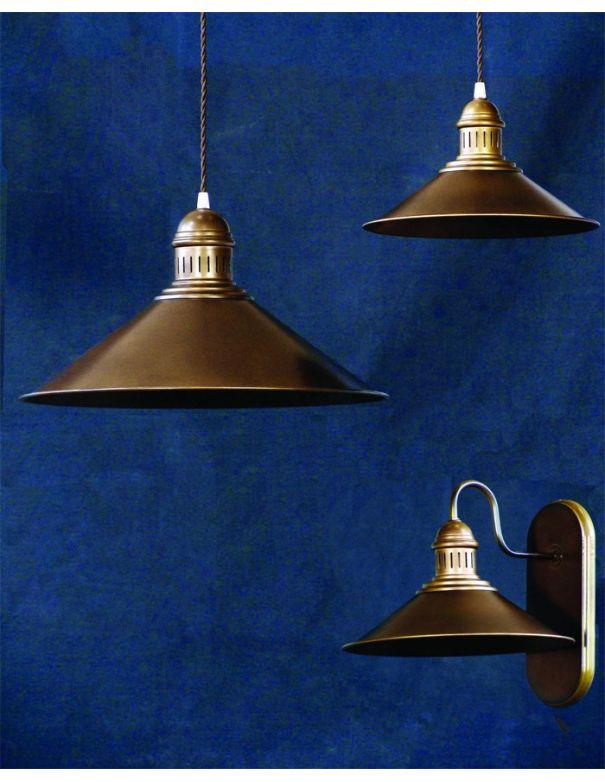 Lámpara colgante de hierro 45 cm diámetro