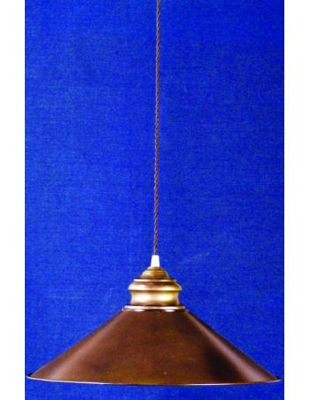 Lámpara hierro cocina