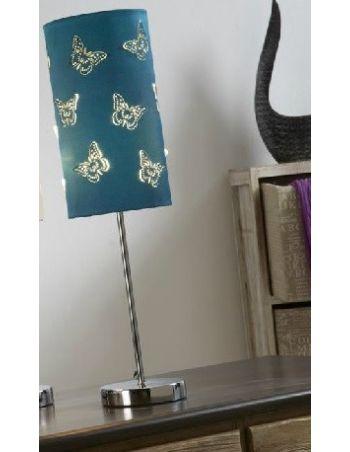 Lámpara Mariposa Azul