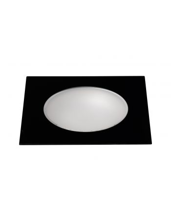 Downlight Led Cuadrado Negro