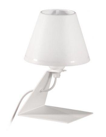 Lámpara Sobremesa Pantalla Blanca
