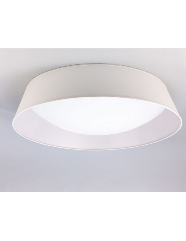 Plafón de Techo Blanco Led 59 cm Diámetro