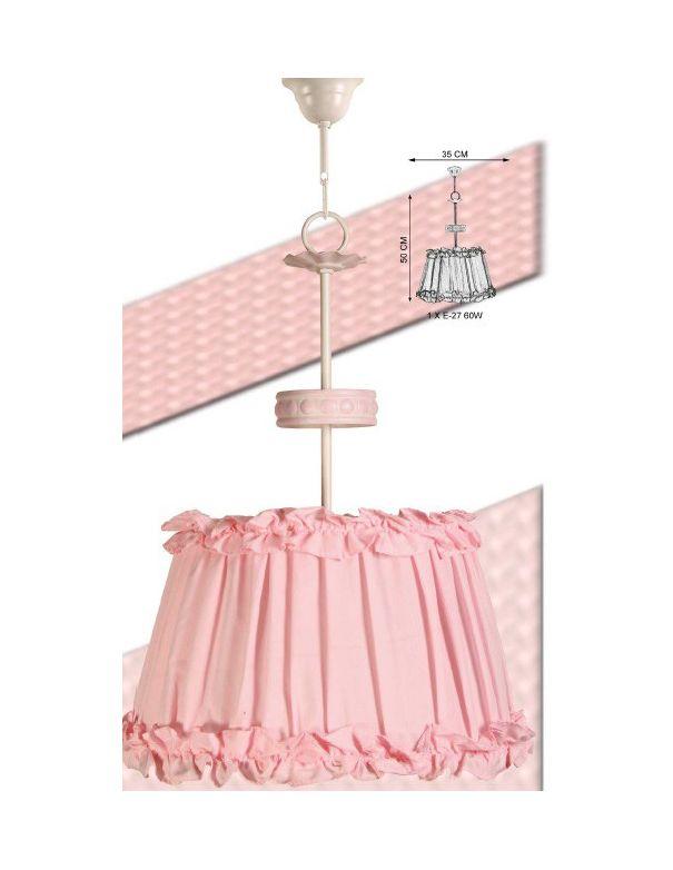 Lámpara Techo Rosa