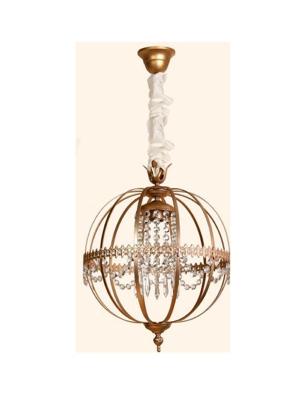 Lámpara Esférica Oro