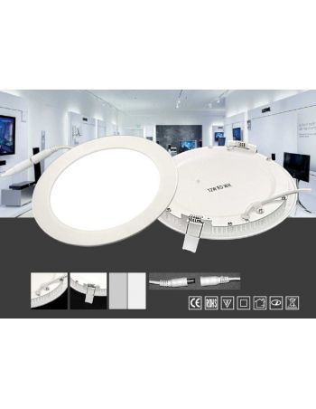 Empotrable Led 12 cm Blanco o Plata
