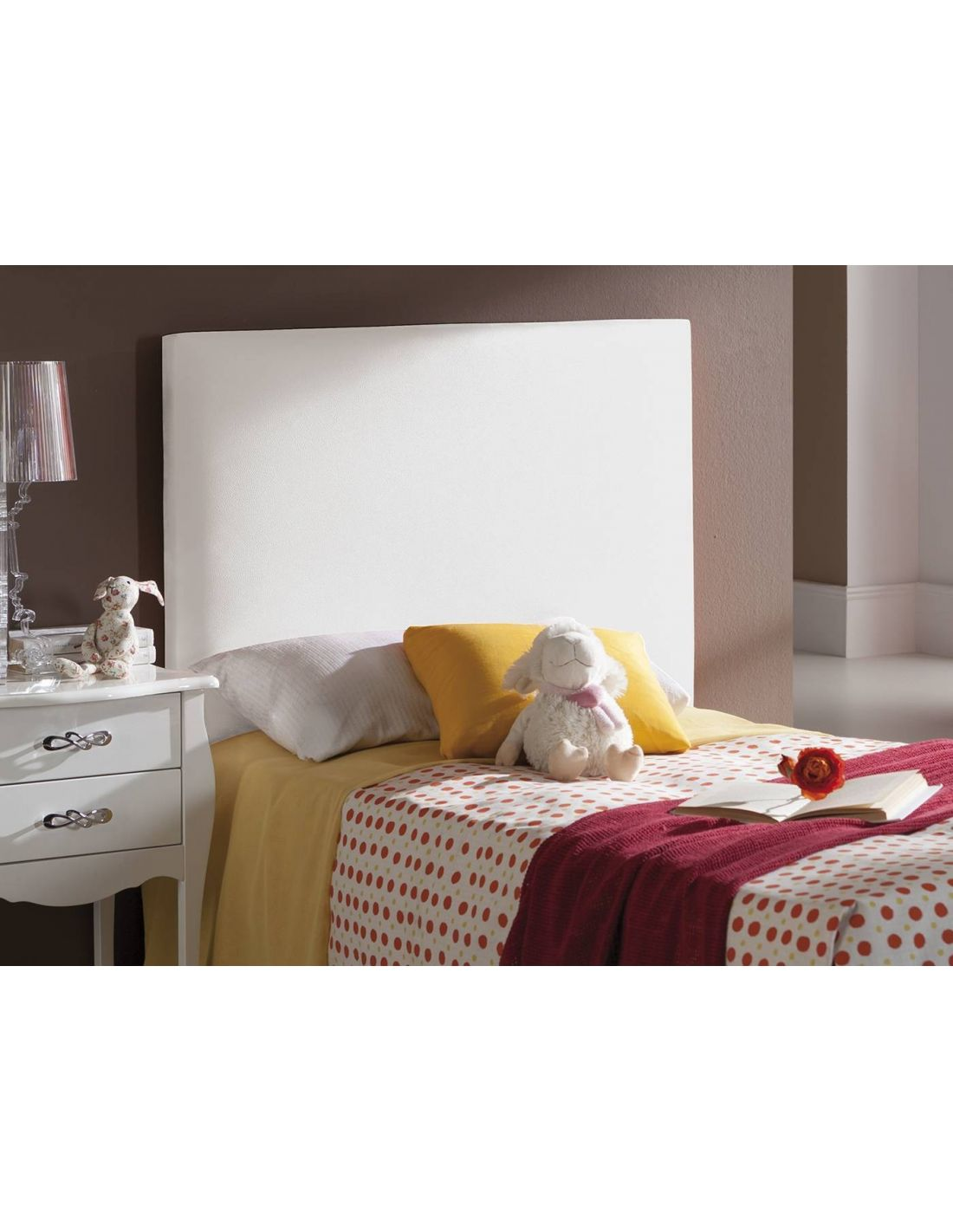 Cabeceros para dormitorios infantiles blanco rojo - Cabecero cama infantil ...