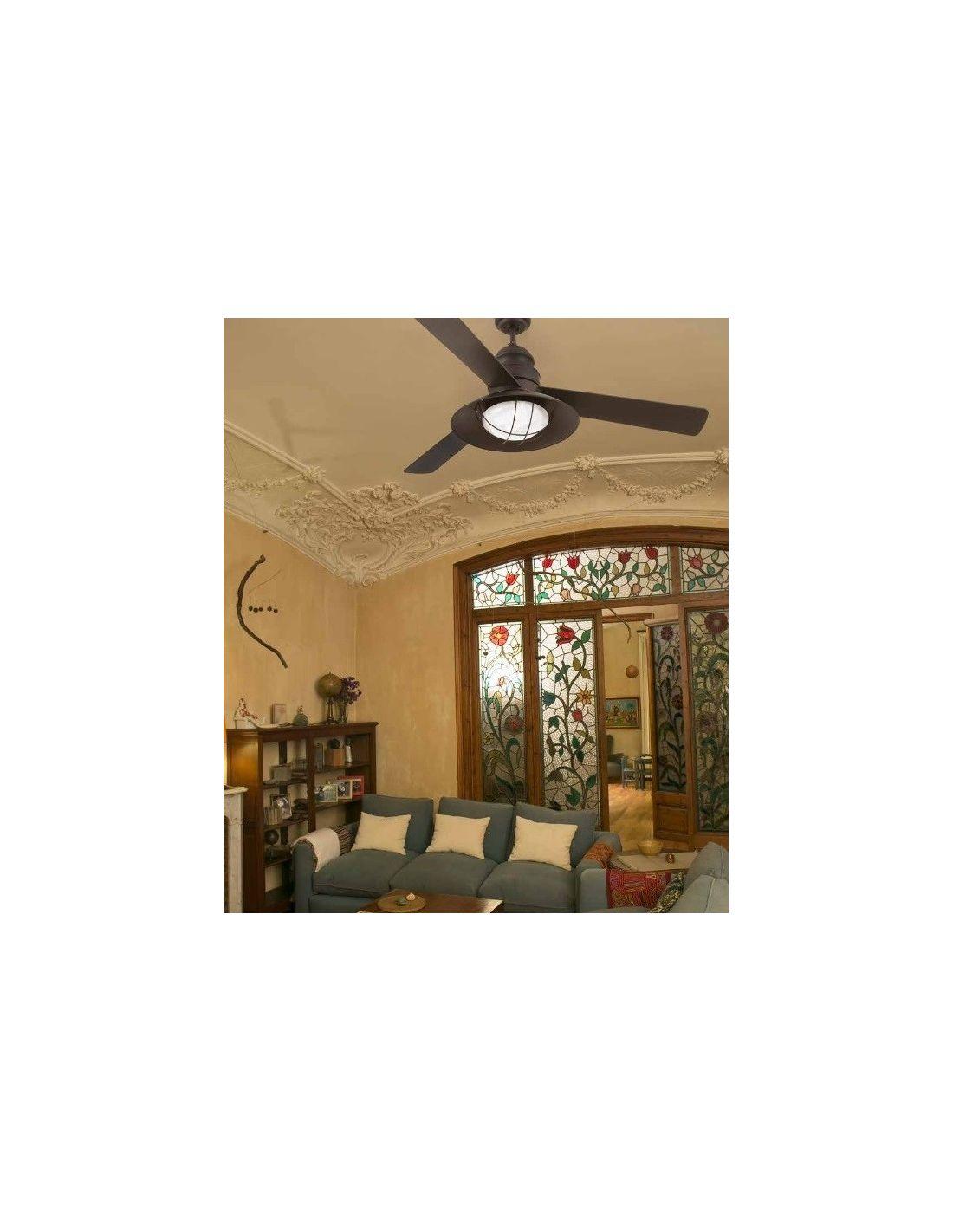 Ventlador de techo estilo antiguo ventilador de 3 palas for Oferta ventilador techo