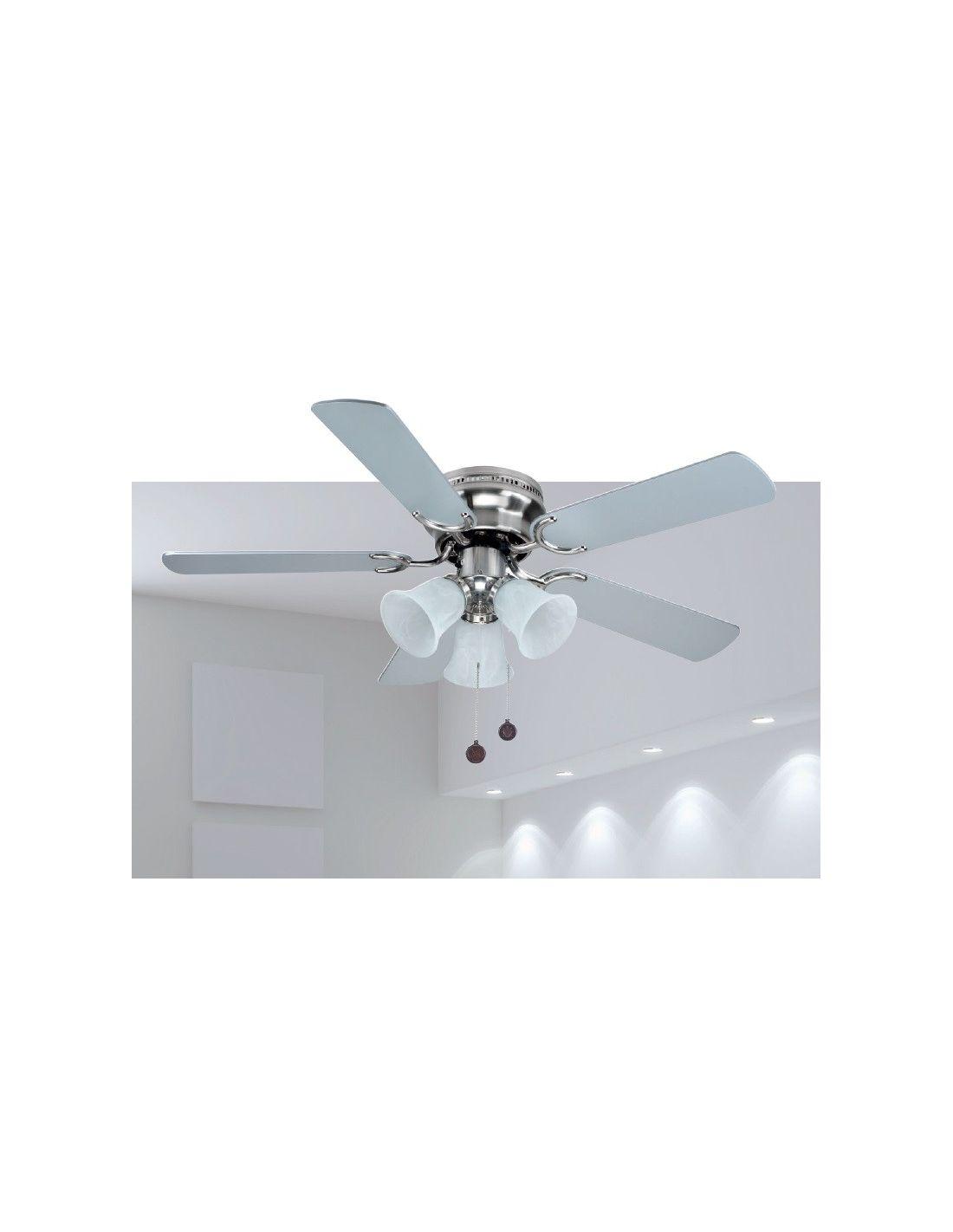 Comprar ventilador por internet ventilador westland - Lamparas con ventilador ...
