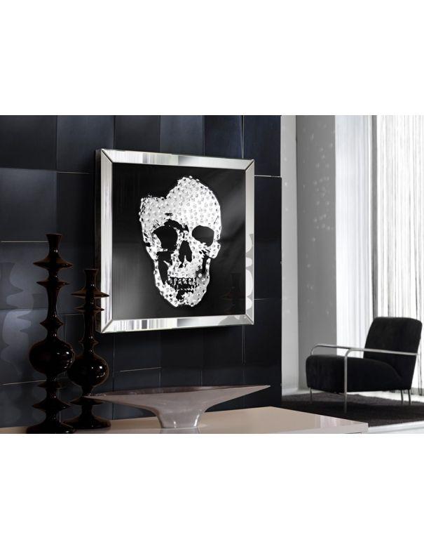 Cuadro Espejo Skull de Schuller