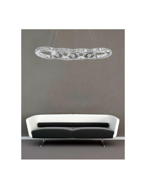 L mpara de techo de cristal led ofertas env o gratis - Ofertas lamparas techo ...