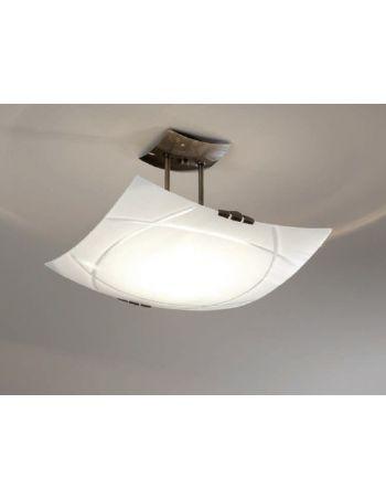 L mparas de cristal online 12 luz sevilla for Plafones pared dormitorio