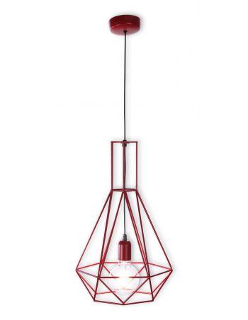 Lámpara Vintage Roja