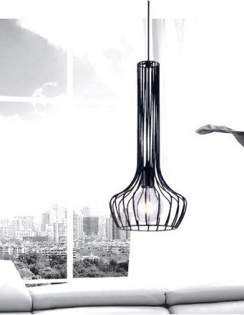 Lámpara de Alambre