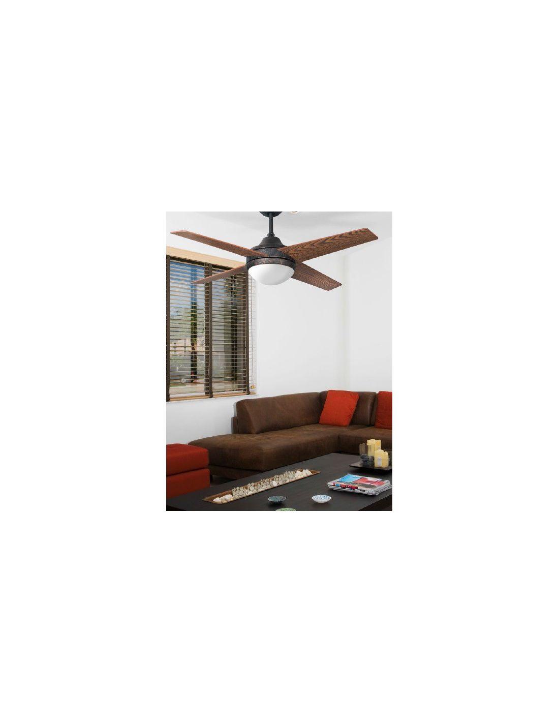 Ventilador de techo estilo r stico ofertas for Oferta ventilador techo