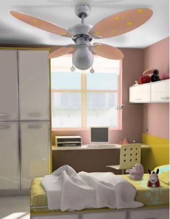 Lámpara Ventilador Infantil