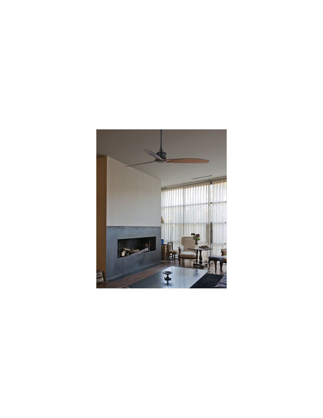 Ventilador just fan de techo sin luz env o r pido y seguro - Luz de techo ...