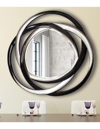Espejo con Moldura Bicolor