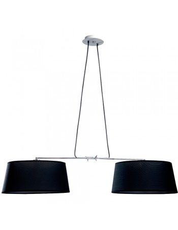 Lámparas Grandes Negras