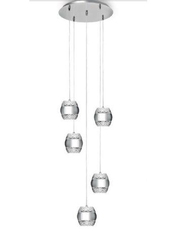 Lámparas Colgantes en Círculo