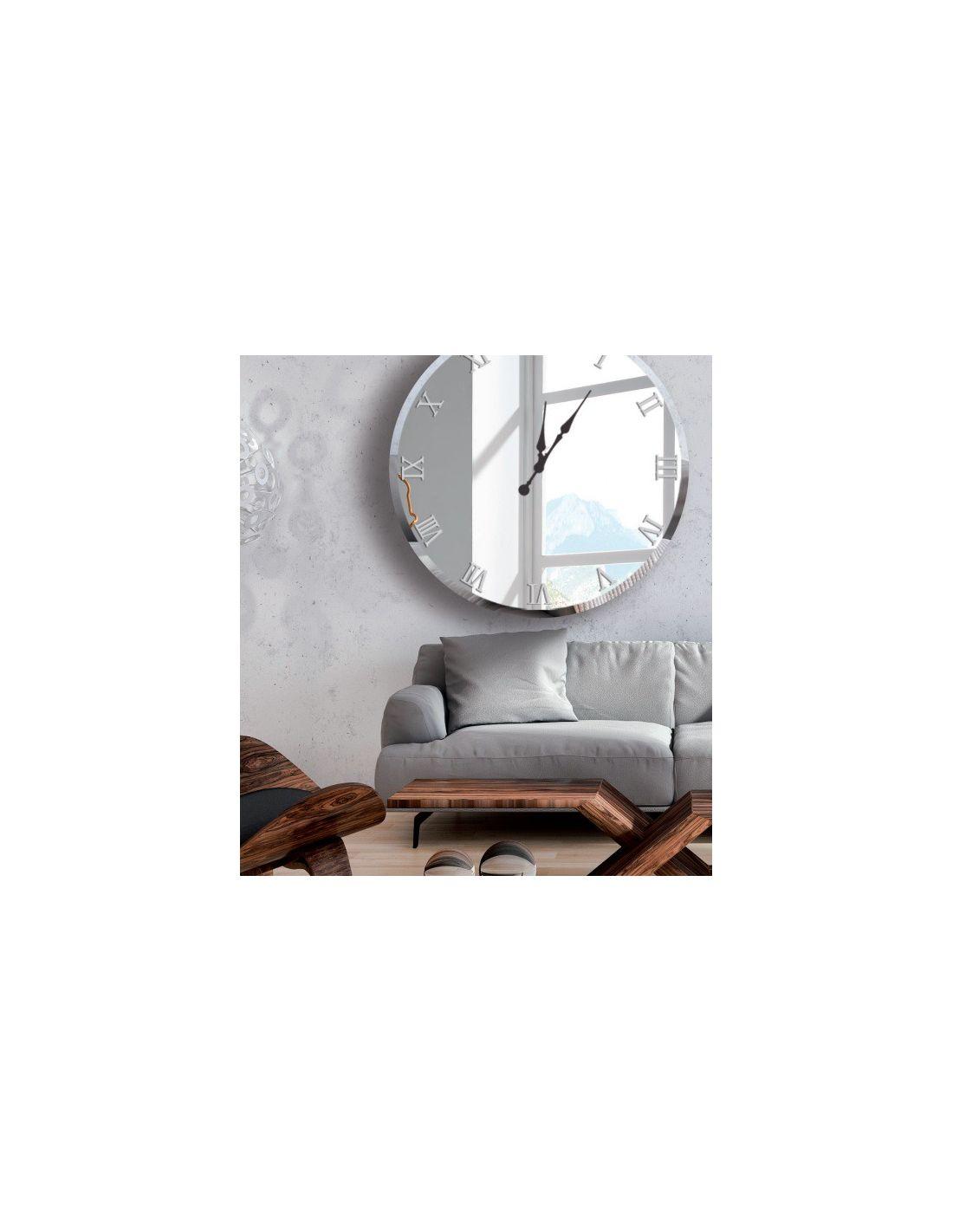 Reloj de pared dise o redondo gran formato distribuidores - Reloj decorativo de pared ...