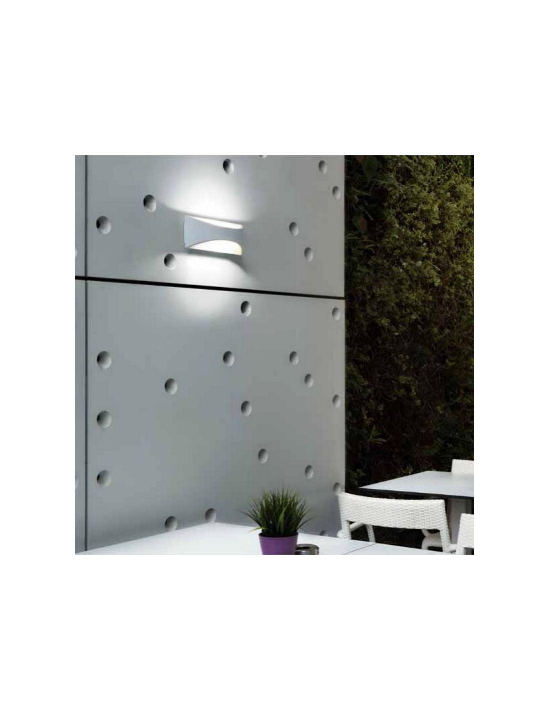 Aplique exterior exterior blanco env o r pido y seguro - Apliques exterior led ...