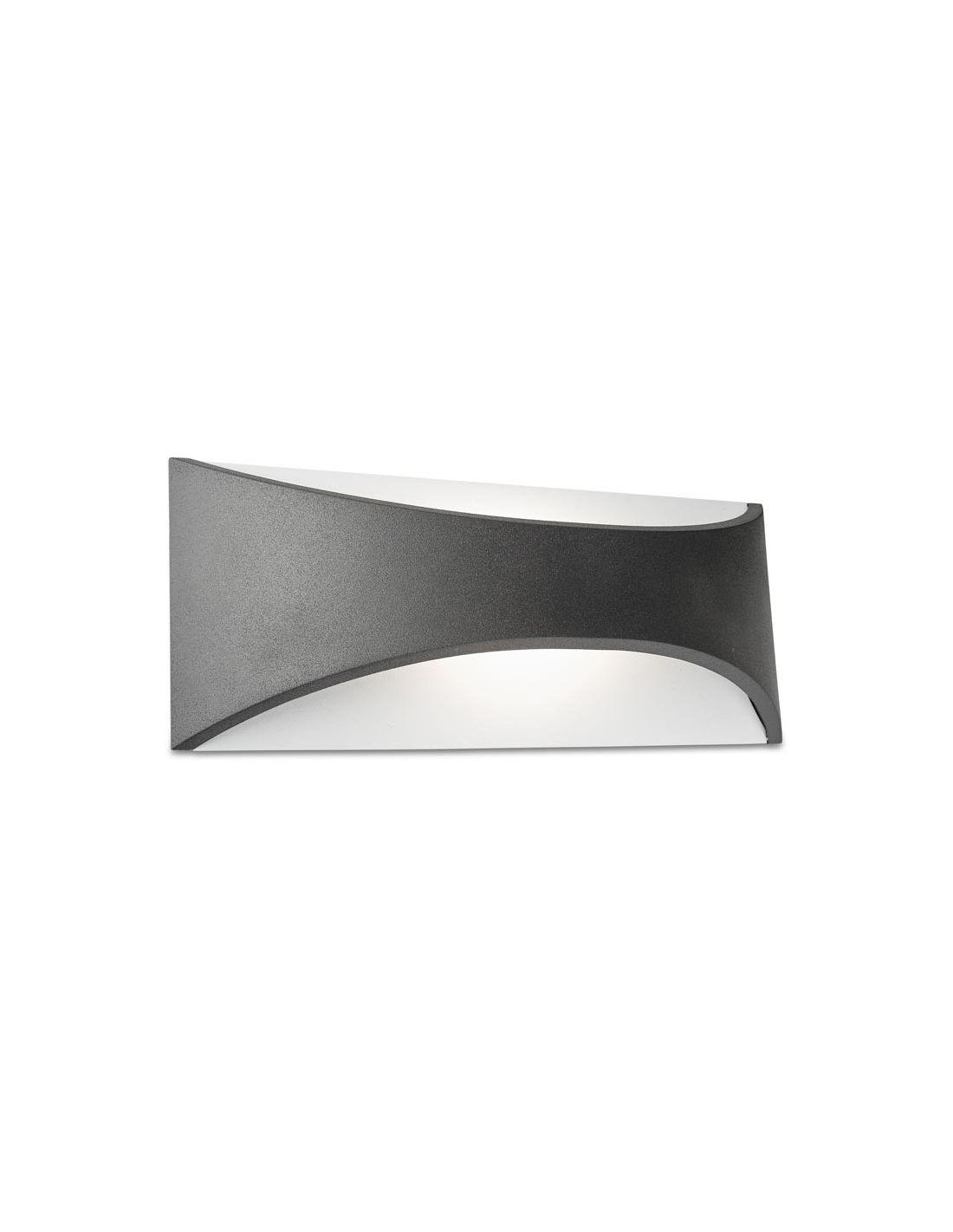 Aplique exterior gris env o r pido y seguro for Apliques exterior modernos